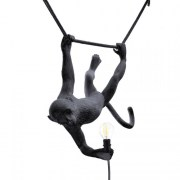 Monkey Lamp Swing Black